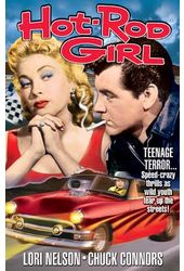 "Hot-Rod Girl - Large Poster (18"" x 24"")"