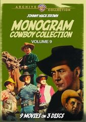 Monogram Cowboy Collection, Volume 9 (3-Disc)