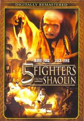 5 Fighters from Shaolin