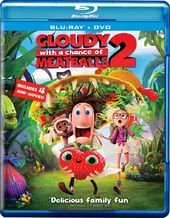 Cloudy with a Chance of Meatballs 2 (Blu-ray +