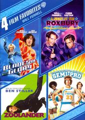 4 Film Favorites - Will Ferrell (4-DVD)