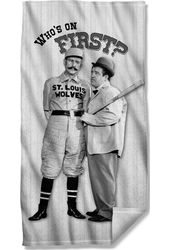 Abbott & Costello - Beach Towel First