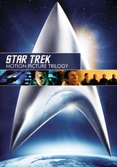 Star Trek: Motion Picture Trilogy (3-DVD)