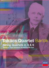 Takacs Quartet - String Quartets No. 2, 3, 4 & 6