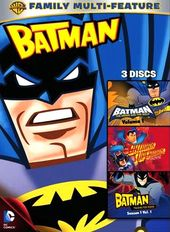 Batman: 3-Pack Fun (3-DVD)