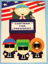 South Park - Cartman For President - Magnet