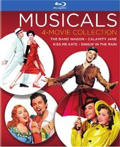 Musicals 4-Movie Collection: The Band Wagon /