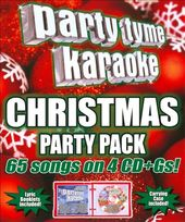 Party Tyme Karaoke: Christmas Party Pack (4-CD)