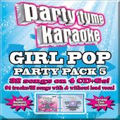 Party Tyme Karaoke: Girl Pop Party Pac, Volume 5