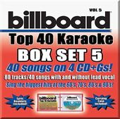 Billboard Top 40 Karaoke Box Set 5 (4-CD)