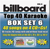 Billboard Top 40 Karaoke Box Set 6 (4-CD)