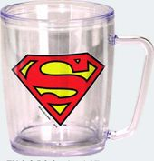 DC Comics - Superman - Logo - Coffee Cup