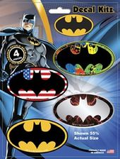 DC Comics - Batman - 4pc Logo - Decal Kit