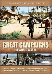 WWII - Great Campaigns of World War II (4-DVD)