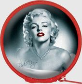Marilyn Monroe - Earbuds w/ Case Red Lips