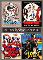 4-Movie Pack (Weekend Pass / Hunk / Pom Pom Girls