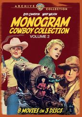 Monogram Cowboy Collection, Volume 2 (3-Disc)