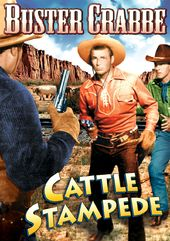 "Cattle Stampede - 11"" x 17"" Poster"