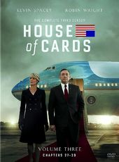 House of Cards - Complete 3rd Season (4-DVD)