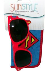 DC Comics - Superman -Logo - Sunglasses with Pouch