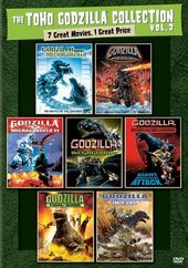 The Toho Godzilla Collection, Volume 2 (4-DVD)