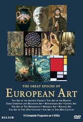 Art - The Great Epochs of European Art (4-DVD)