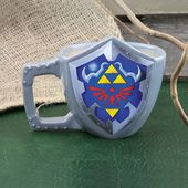 Legend of Zelda - Link's Shield 3-D Mug