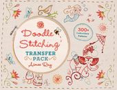 Doodle Stitching Transfer Pack: 300+ Embroidery