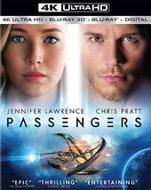 Passengers (4K Ultra HD Blu-ray, 3D)