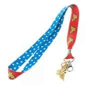 DC Comics - Wonder Woman - Lanyard with Metal