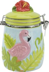 Flamingo - Hinged Jar