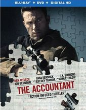 The Accountant (Blu-ray + DVD)