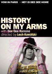 Dee Dee Ramone - History on My Arms (DVD+CD)