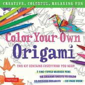 Color Your Own Origami: Creative, Colorful,