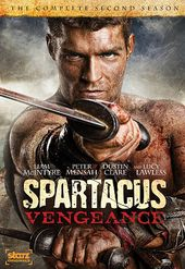 Spartacus: Vengeance - Complete 2nd Season (3-DVD)