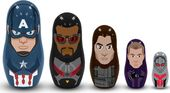 Captain America 3 Nesting Doll Set - Team Captain