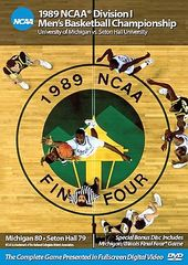 Basketball - 1989 NCAA Championship: Michigan vs.