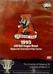1993 Sugar Bowl Alabama Vs Miami