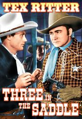 "The Texas Rangers: Three In The Saddle - 11"" x"