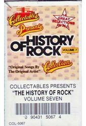History of Rock, Volume 7 (Audio Cassette)