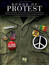 Songs of Protest (Piano/Vocal/Guitar Songbook)