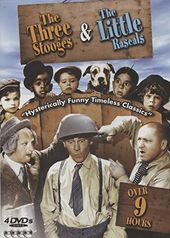 The Three Stooges & The Little Rascals (4-DVD)
