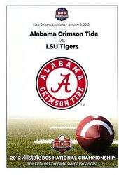 2012 Allstate BCS National Championship: Alabama