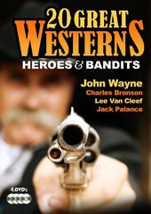 20 Great Westerns - Heroes & Bandits (4-DVD)