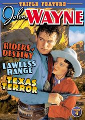 John Wayne Triple Feature, Volume 4 (Riders of