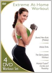 Extreme At-Home Workout (4-DVD)