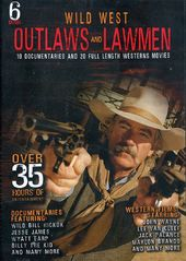 Wild West Outlaws and Lawmen (6-DVD)
