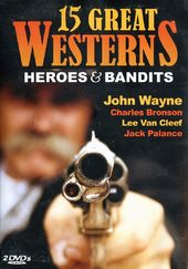 15 Great Westerns - Heroes & Bandits (2-DVD)