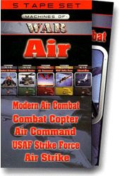 Machines of War: Air (5-Tape Set)