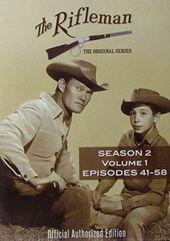 The Rifleman - Season 2, Volume 1 (4-DVD)
